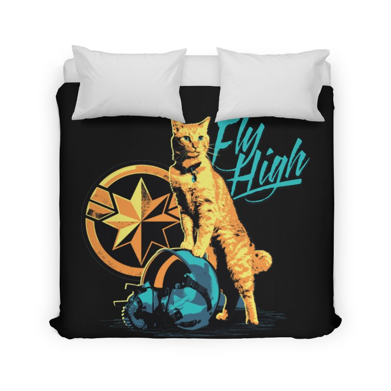 Goose The Flerken Cat Fly High Home Duvet by Game Of Thrones and others Collection