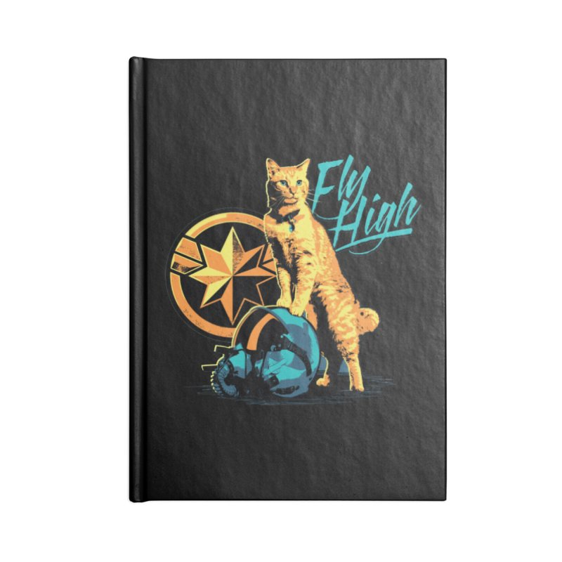 Goose The Flerken Cat Fly High Accessories Blank Journal Notebook by Game Of Thrones and others Collection