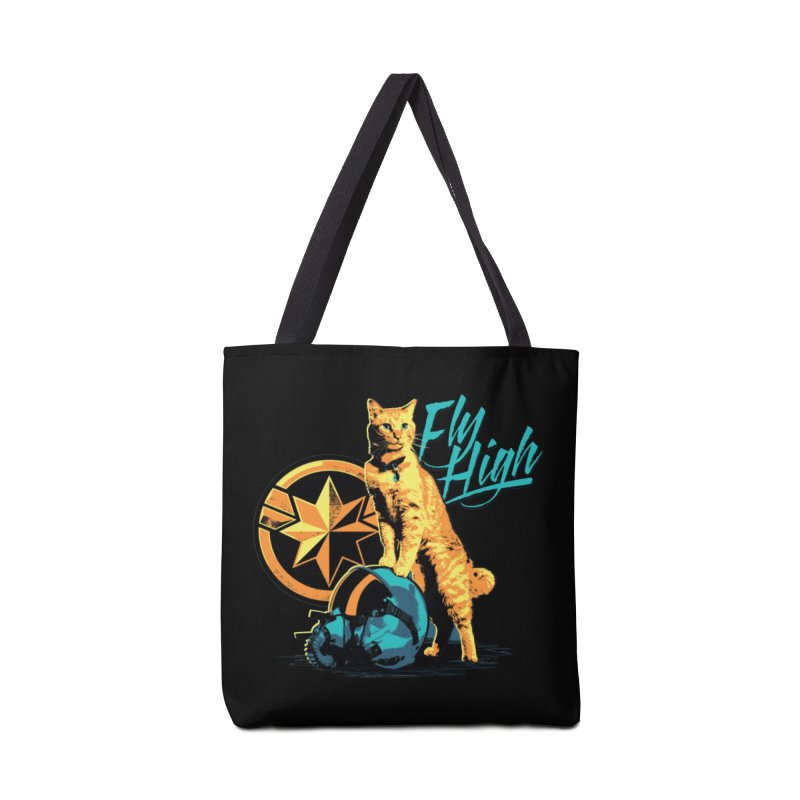 Goose The Flerken Cat Fly High Accessories Tote Bag Bag by Game Of Thrones and others Collection