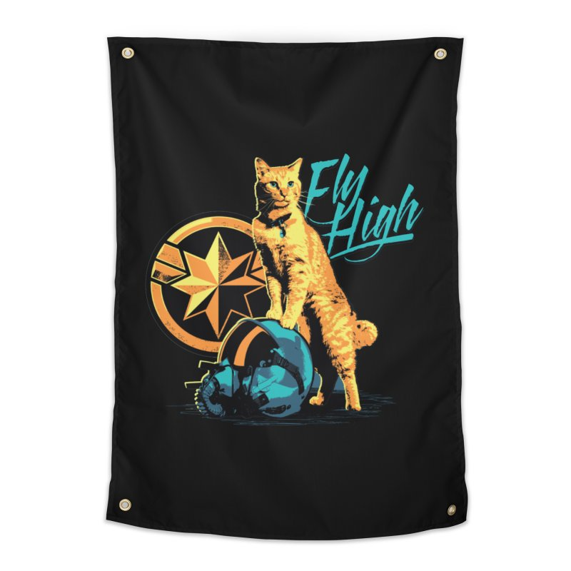 Goose The Flerken Cat Fly High Home Tapestry by Game Of Thrones and others Collection