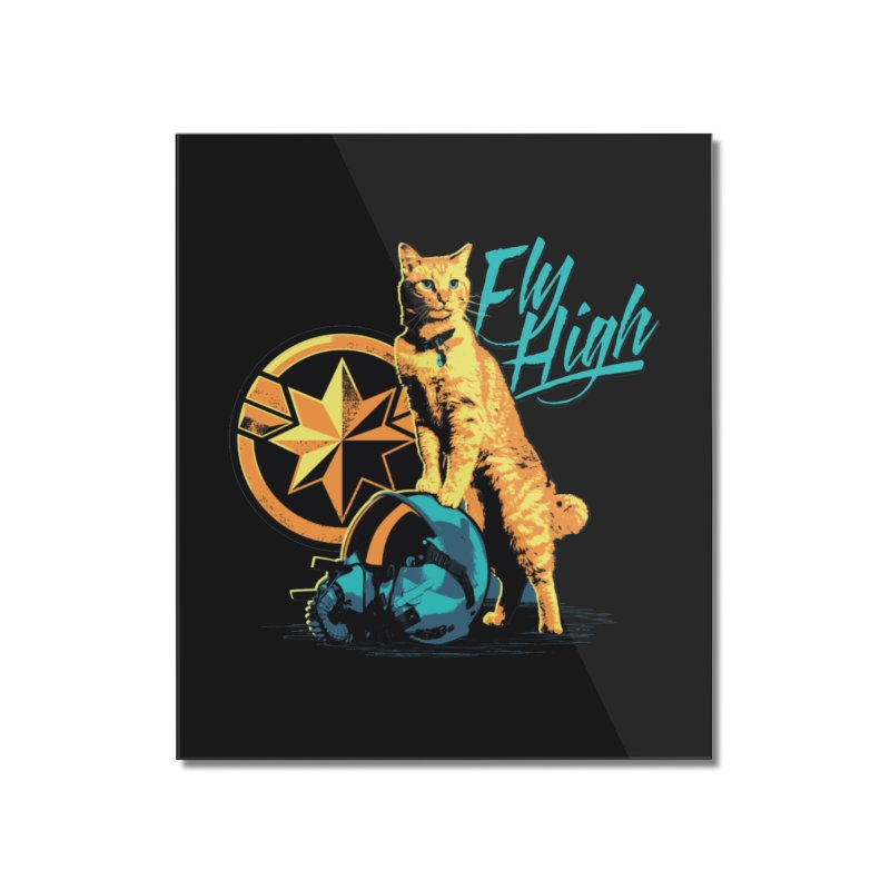 Goose The Flerken Cat Fly High Home Mounted Acrylic Print by Game Of Thrones and others Collection