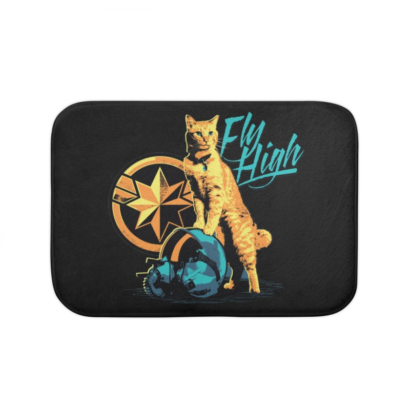 Goose The Flerken Cat Fly High Home Bath Mat by Game Of Thrones and others Collection