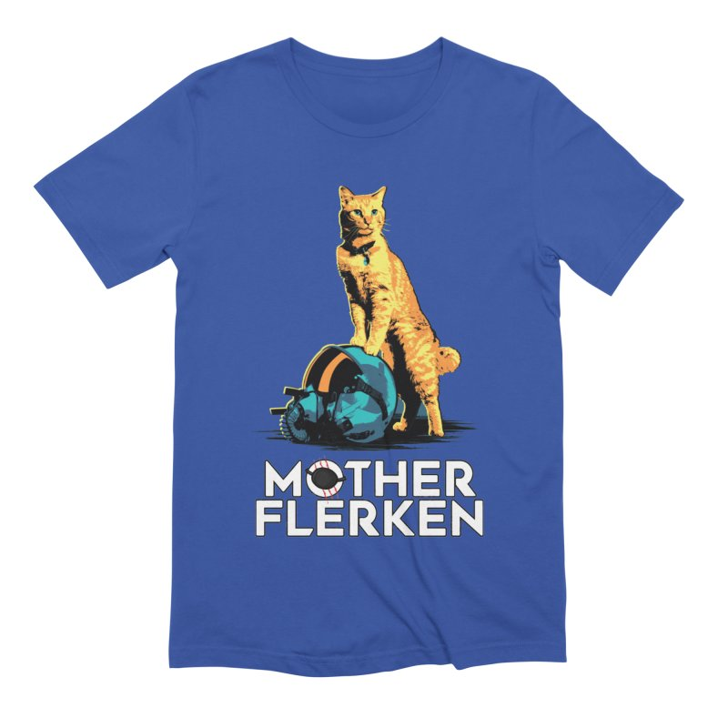 Goose The Cat Mother Flerken Captain Marvel Men's Extra Soft T-Shirt by Game Of Thrones and others Collection