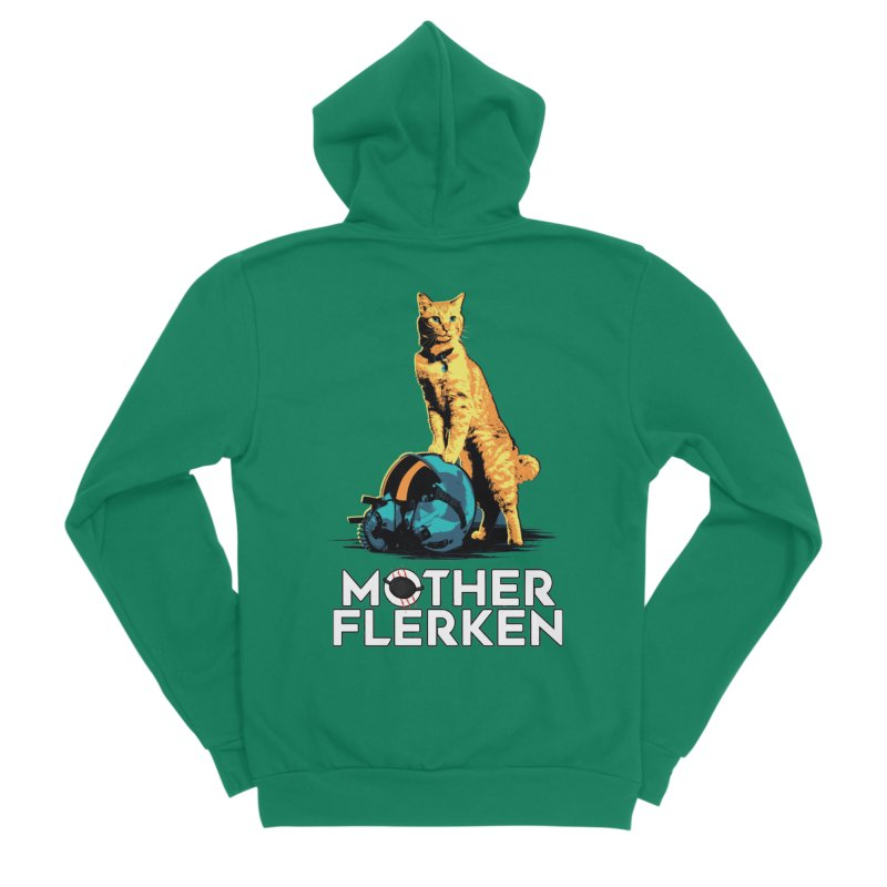Goose The Cat Mother Flerken Captain Marvel Women's Sponge Fleece Zip-Up Hoody by Game Of Thrones and others Collection