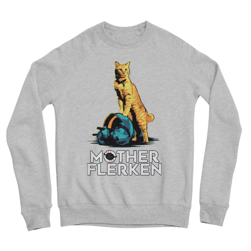 Goose The Cat Mother Flerken Captain Marvel Women's Sponge Fleece Sweatshirt by Game Of Thrones and others Collection