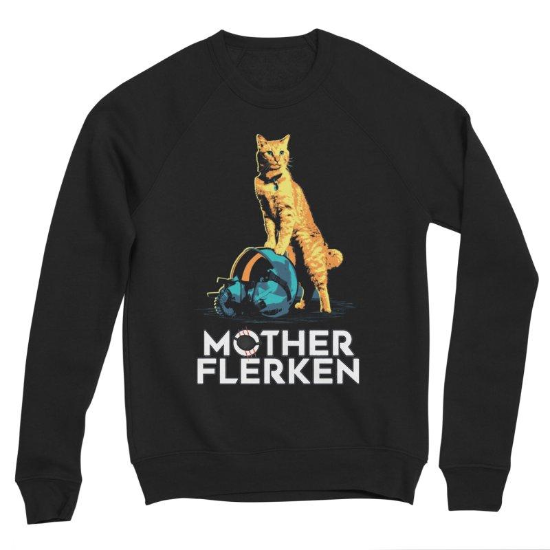 Goose The Cat Mother Flerken Captain Marvel Men's Sponge Fleece Sweatshirt by Game Of Thrones and others Collection