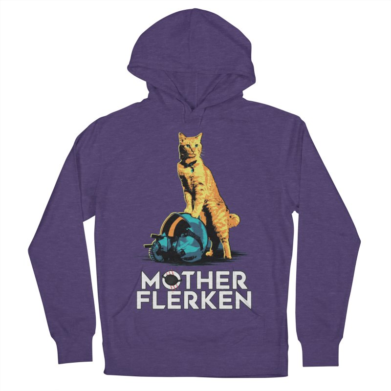 Goose The Cat Mother Flerken Captain Marvel Men's French Terry Pullover Hoody by Game Of Thrones and others Collection