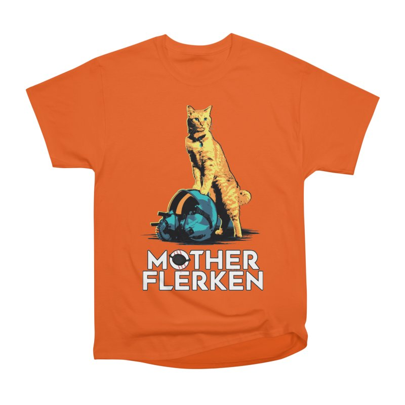 Goose The Cat Mother Flerken Captain Marvel Women's Heavyweight Unisex T-Shirt by Game Of Thrones and others Collection