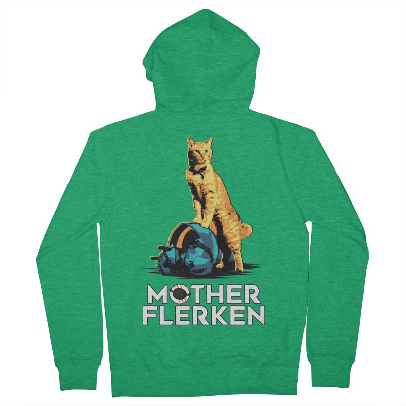 Goose The Cat Mother Flerken Captain Marvel Women's French Terry Zip-Up Hoody by Game Of Thrones and others Collection