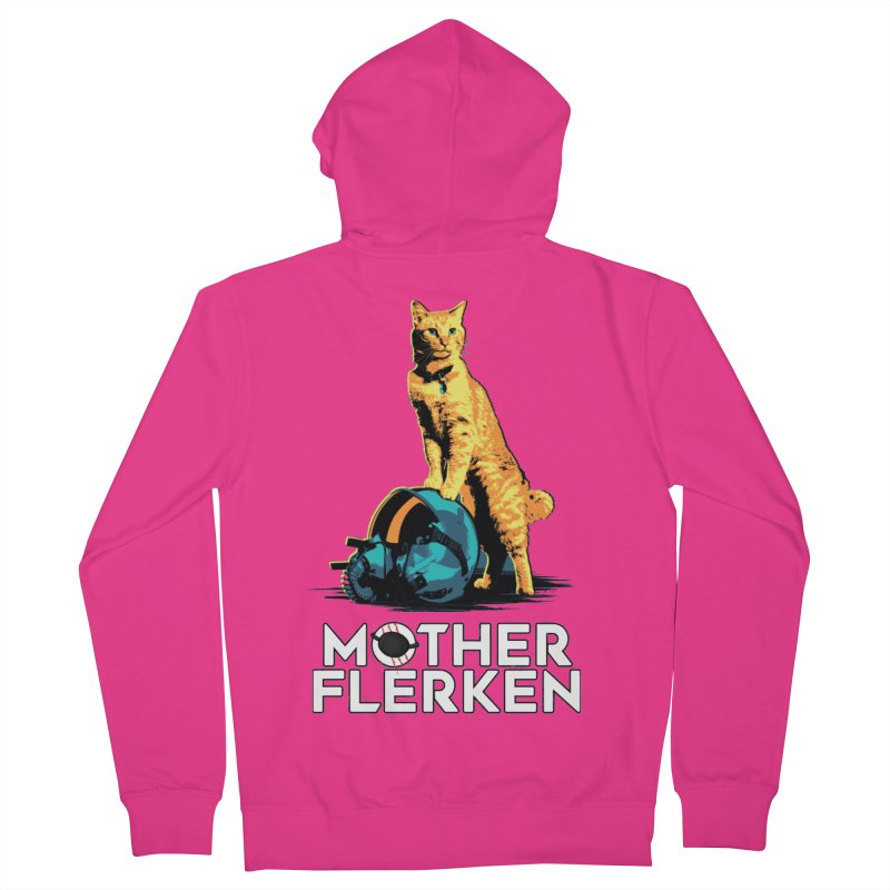 Goose The Cat Mother Flerken Captain Marvel Men's French Terry Zip-Up Hoody by Game Of Thrones and others Collection