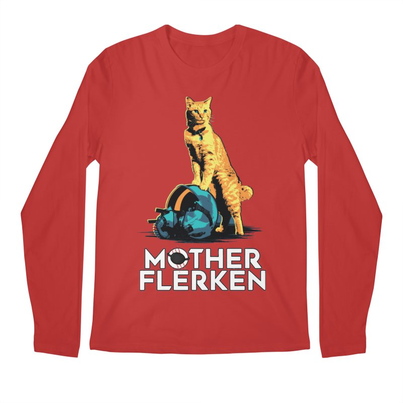 Goose The Cat Mother Flerken Captain Marvel Men's Regular Longsleeve T-Shirt by Game Of Thrones and others Collection