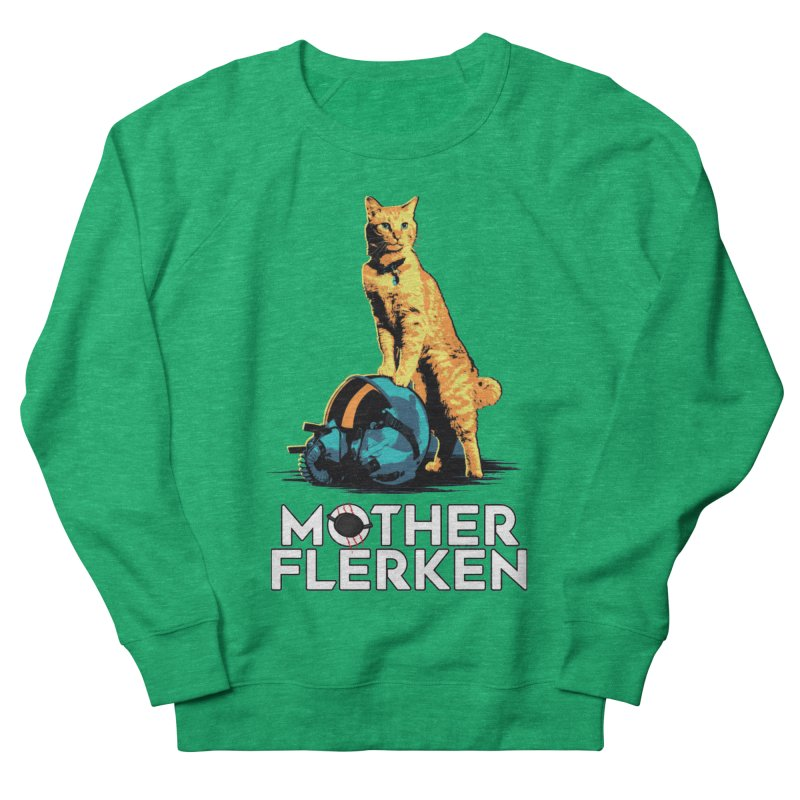 Goose The Cat Mother Flerken Captain Marvel Women's French Terry Sweatshirt by Game Of Thrones and others Collection