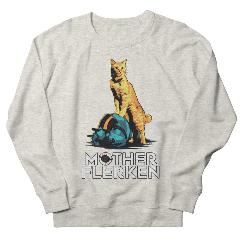 Goose The Cat Mother Flerken Captain Marvel Men's French Terry Sweatshirt by Game Of Thrones and others Collection