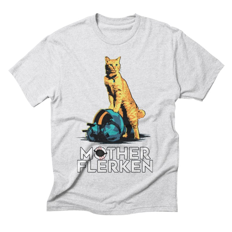 Goose The Cat Mother Flerken Captain Marvel Men's Triblend T-Shirt by Game Of Thrones and others Collection