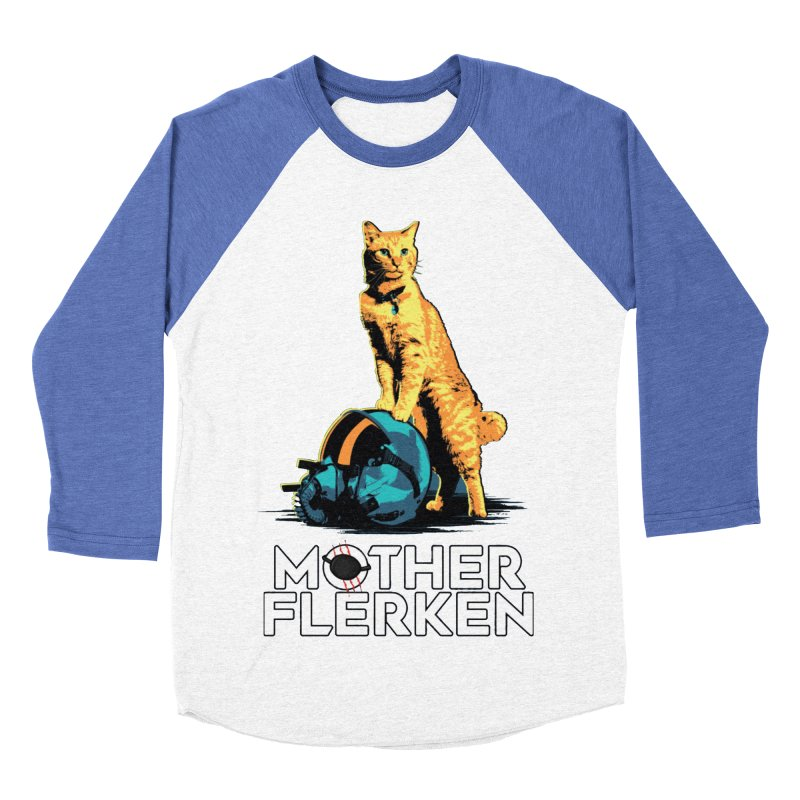 Goose The Cat Mother Flerken Captain Marvel Men's Baseball Triblend Longsleeve T-Shirt by Game Of Thrones and others Collection