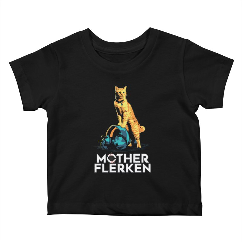 Goose The Cat Mother Flerken Captain Marvel Kids Baby T-Shirt by Game Of Thrones and others Collection