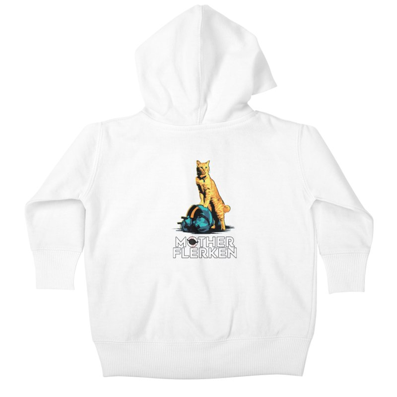Goose The Cat Mother Flerken Captain Marvel Kids Baby Zip-Up Hoody by Game Of Thrones and others Collection