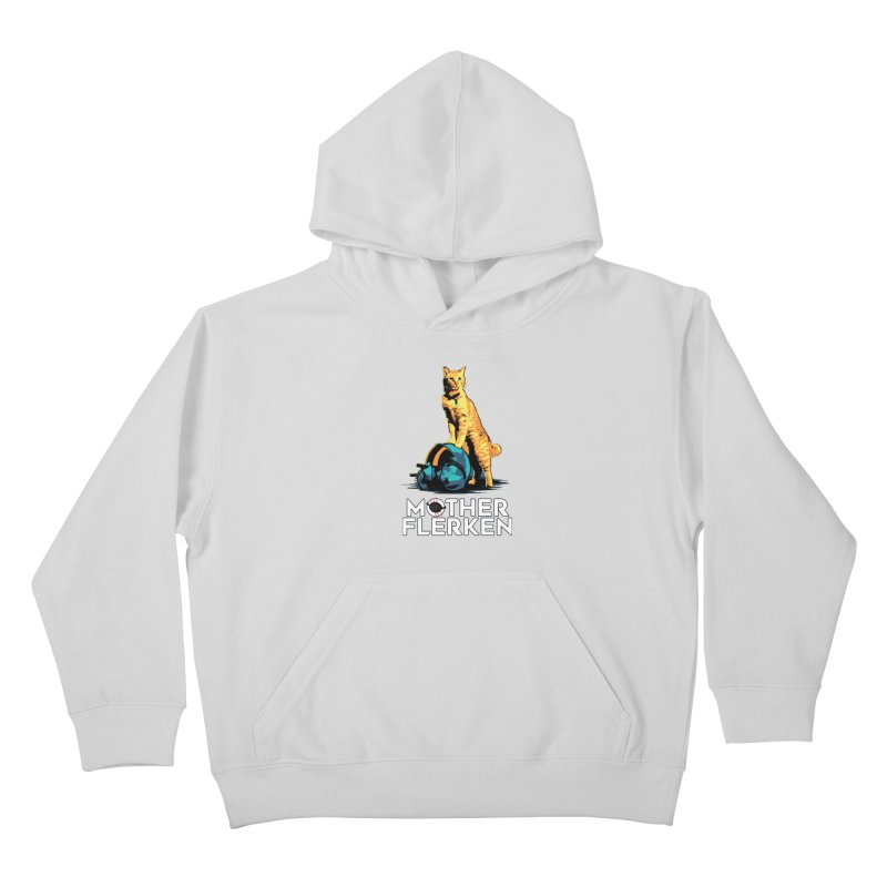Goose The Cat Mother Flerken Captain Marvel Kids Pullover Hoody by Game Of Thrones and others Collection