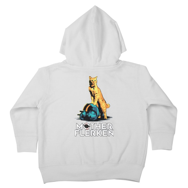 Goose The Cat Mother Flerken Captain Marvel Kids Toddler Zip-Up Hoody by Game Of Thrones and others Collection