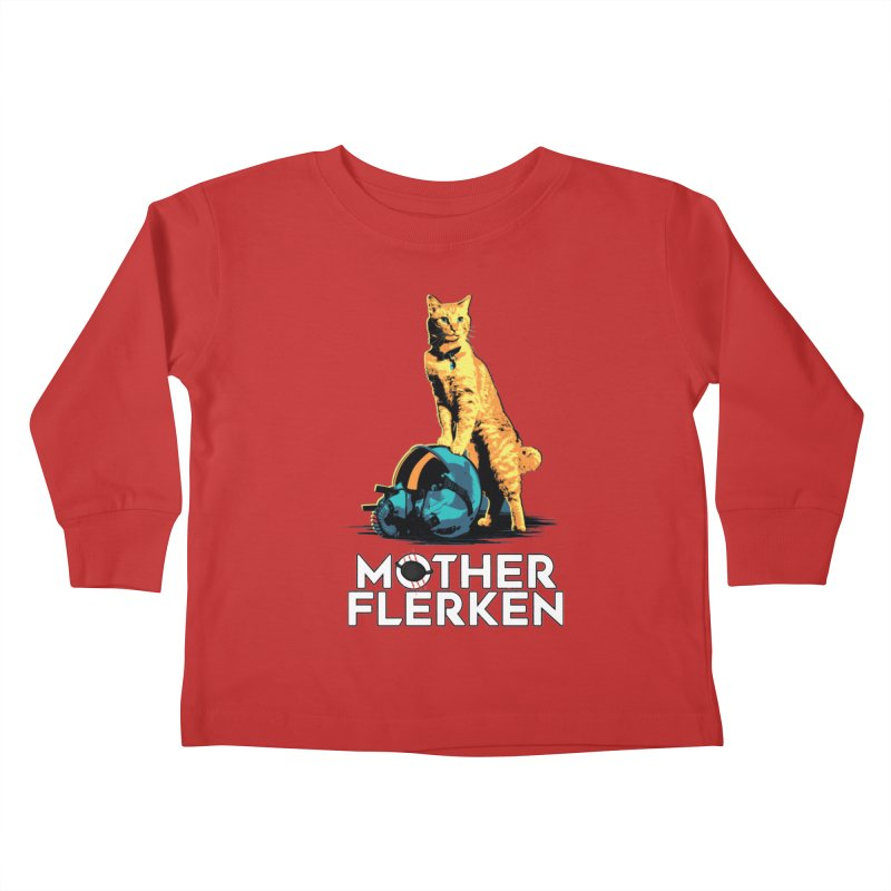 Goose The Cat Mother Flerken Captain Marvel Kids Toddler Longsleeve T-Shirt by Game Of Thrones and others Collection