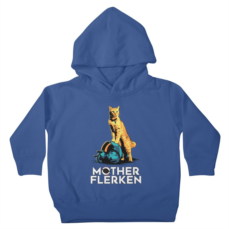Goose The Cat Mother Flerken Captain Marvel Kids Toddler Pullover Hoody by Game Of Thrones and others Collection
