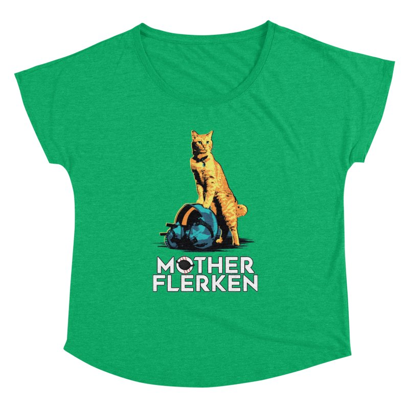 Goose The Cat Mother Flerken Captain Marvel Women's Dolman Scoop Neck by Game Of Thrones and others Collection