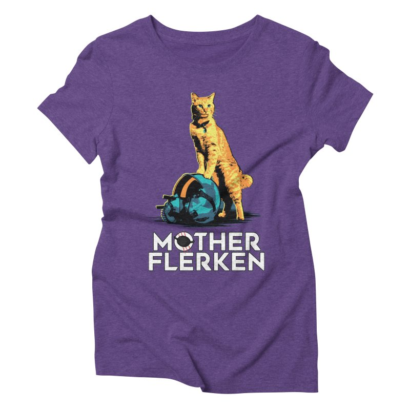 Goose The Cat Mother Flerken Captain Marvel Women's Triblend T-Shirt by Game Of Thrones and others Collection