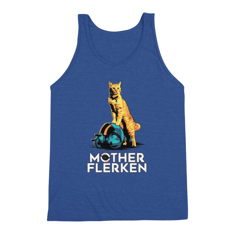 Goose The Cat Mother Flerken Captain Marvel Men's Triblend Tank by Game Of Thrones and others Collection