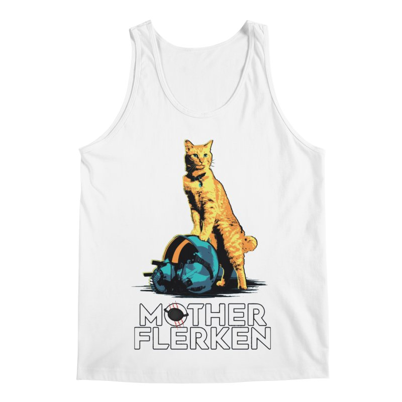 Goose The Cat Mother Flerken Captain Marvel Men's Regular Tank by Game Of Thrones and others Collection