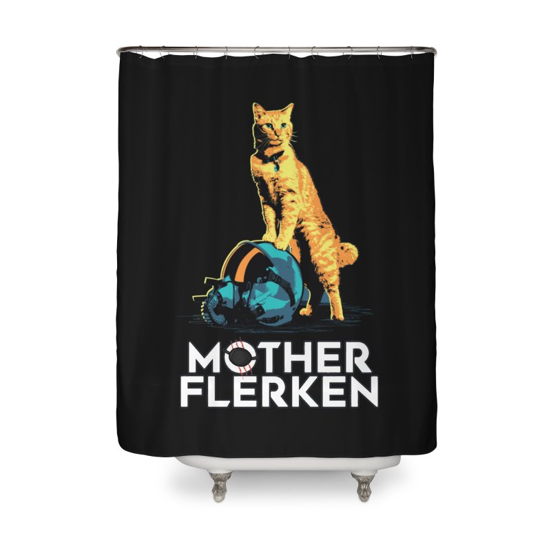 Goose The Cat Mother Flerken Captain Marvel Home Shower Curtain by Game Of Thrones and others Collection