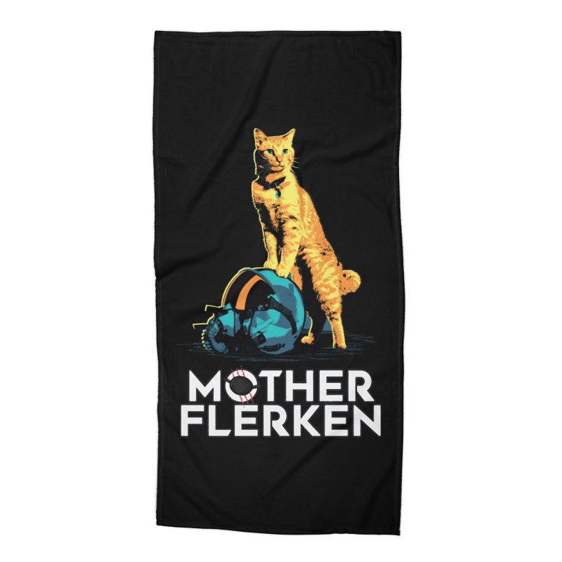 Goose The Cat Mother Flerken Captain Marvel Accessories Beach Towel by Game Of Thrones and others Collection