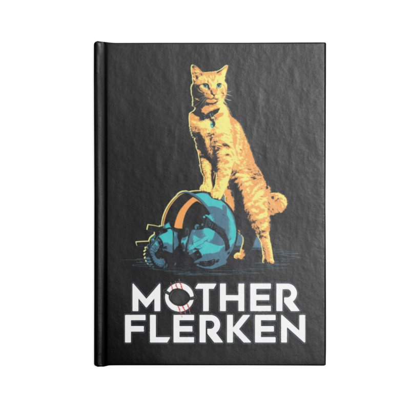Goose The Cat Mother Flerken Captain Marvel Accessories Blank Journal Notebook by Game Of Thrones and others Collection
