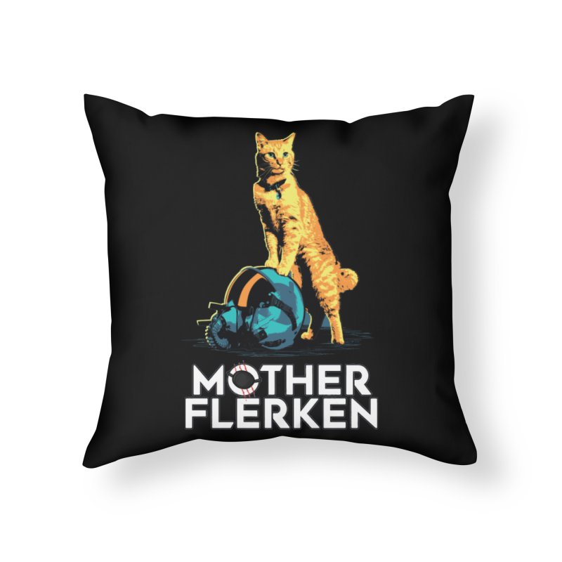 Goose The Cat Mother Flerken Captain Marvel Home Throw Pillow by Game Of Thrones and others Collection