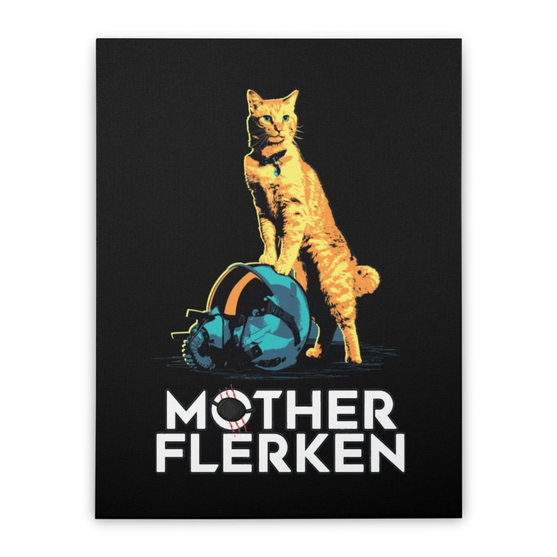 Goose The Cat Mother Flerken Captain Marvel Home Stretched Canvas by Game Of Thrones and others Collection