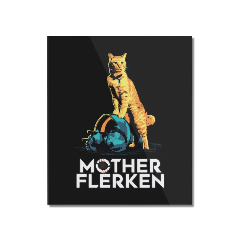 Goose The Cat Mother Flerken Captain Marvel Home Mounted Acrylic Print by Game Of Thrones and others Collection