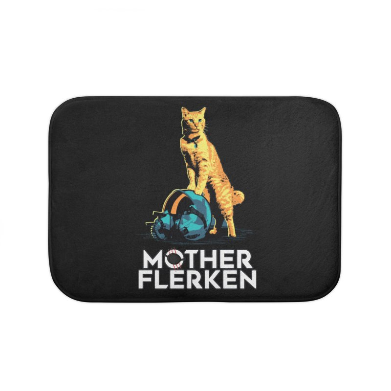 Goose The Cat Mother Flerken Captain Marvel Home Bath Mat by Game Of Thrones and others Collection
