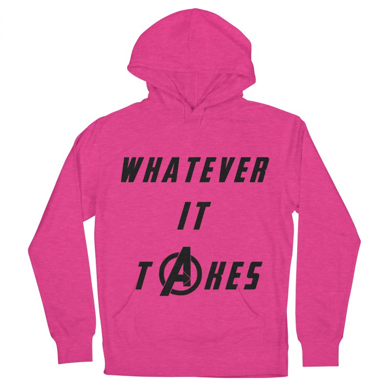 Avengers Endgame Whatever it takes Men's French Terry Pullover Hoody by Game Of Thrones and others Collection