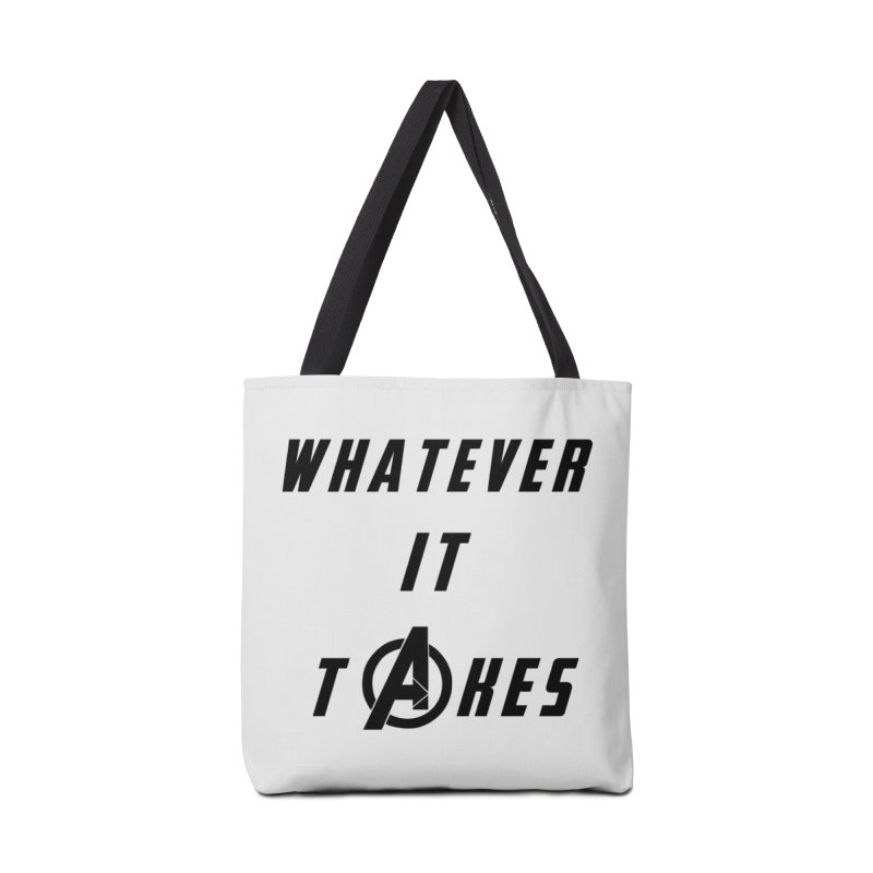Avengers Endgame Whatever it takes Accessories Tote Bag Bag by Game Of Thrones and others Collection