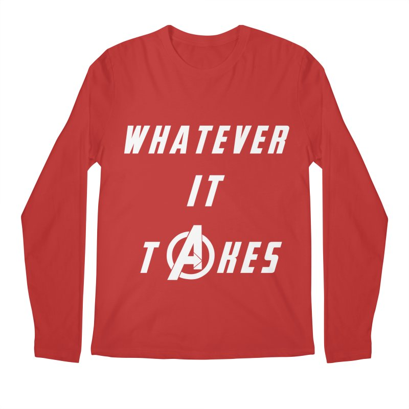 Avengers Endgame Whatever It Takes Men's Regular Longsleeve T-Shirt by Game Of Thrones and others Collection