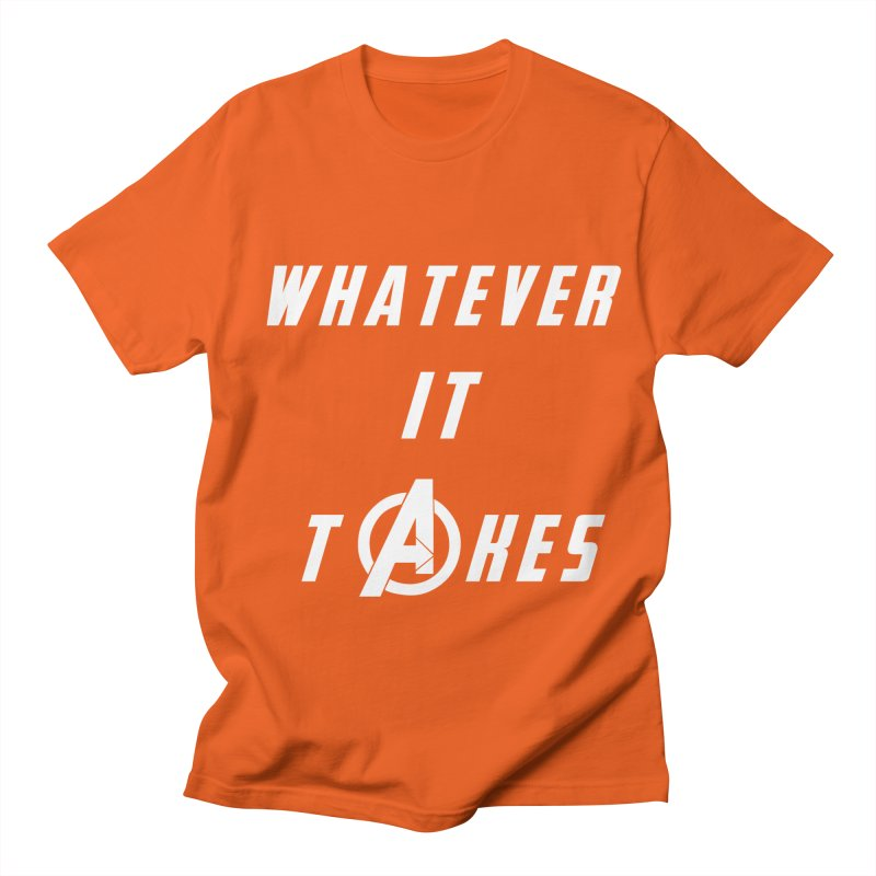 Avengers Endgame Whatever It Takes Men's Regular T-Shirt by Game Of Thrones and others Collection