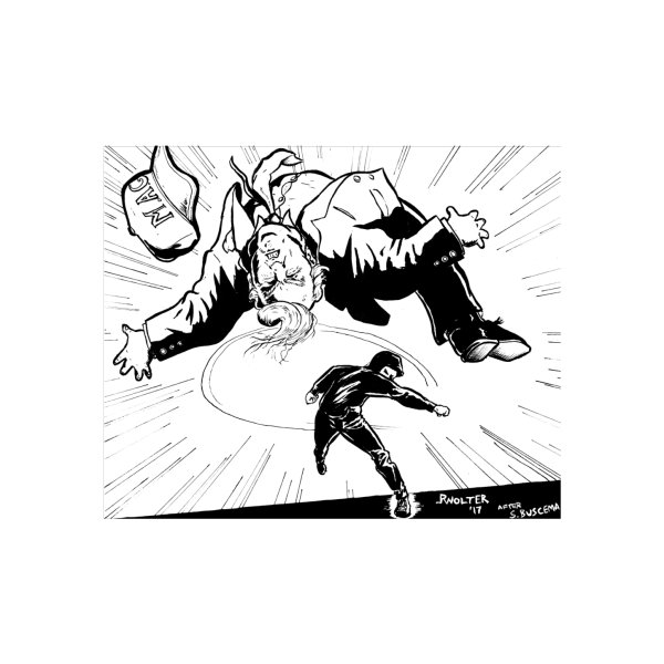 image for Trump Punched With White Background