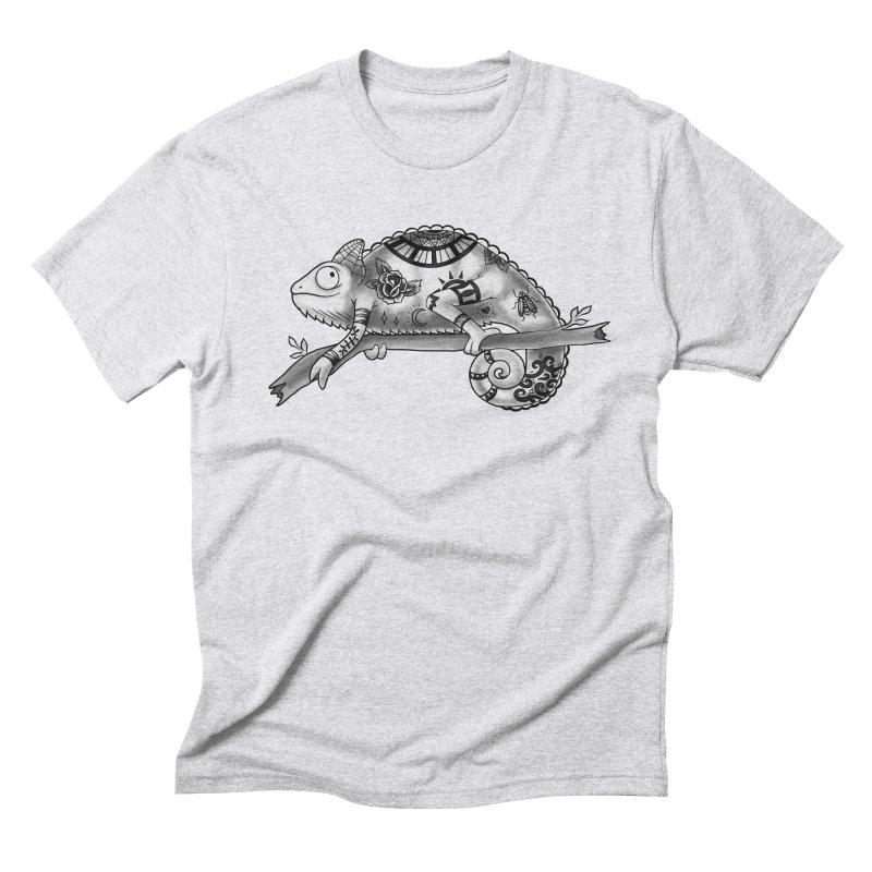 Tatted Lizard Men's Triblend T-shirt by jordan's Artist Shop
