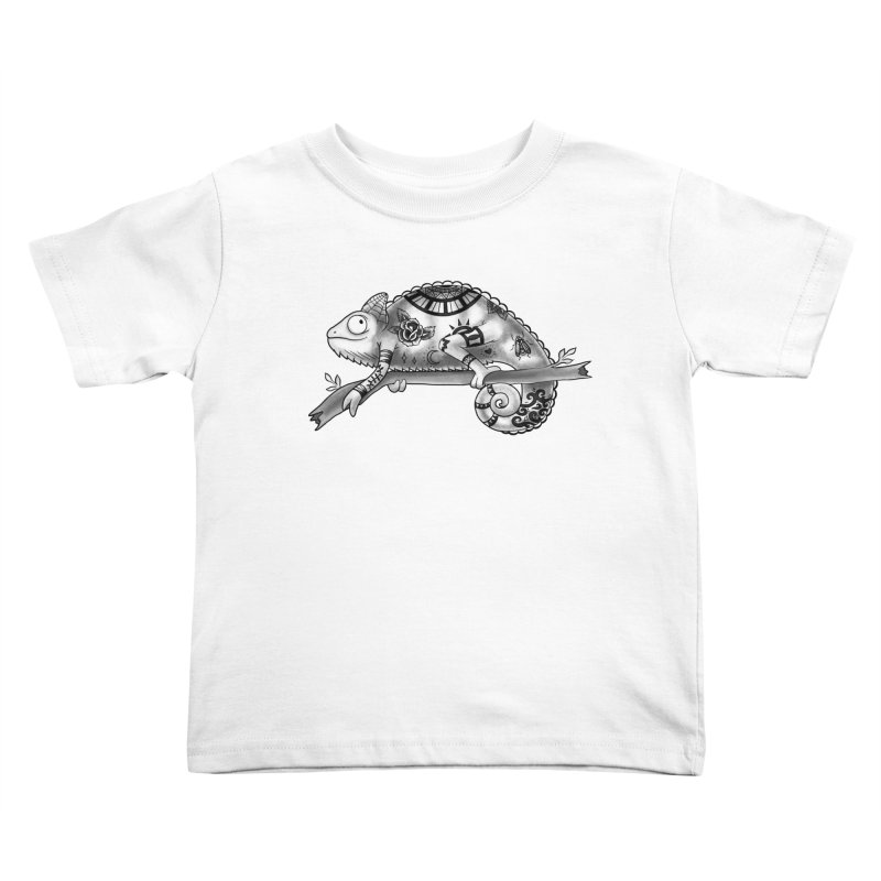 Tatted Lizard Kids Toddler T-Shirt by jordan's Artist Shop