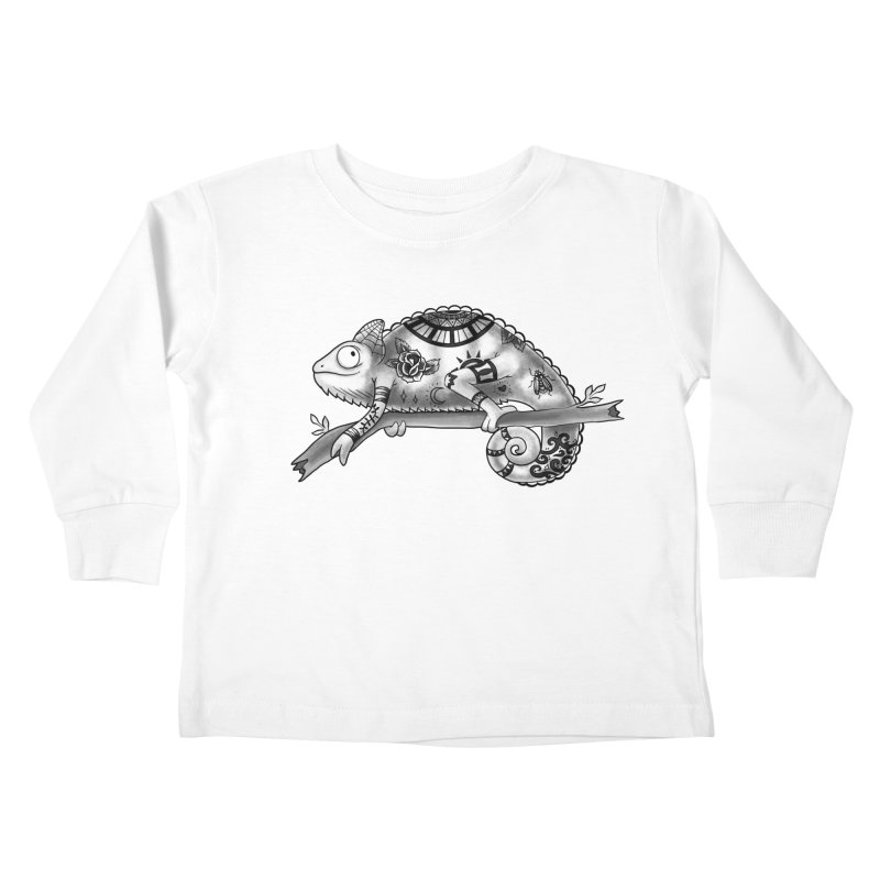 Tatted Lizard Kids Toddler Longsleeve T-Shirt by jordan's Artist Shop