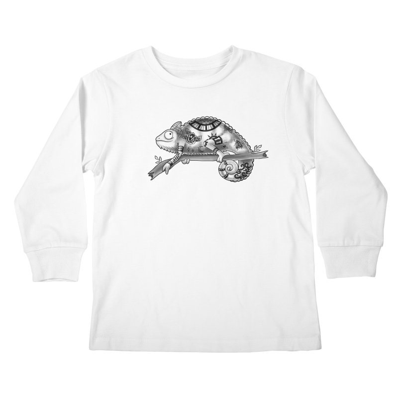 Tatted Lizard Kids Longsleeve T-Shirt by jordan's Artist Shop