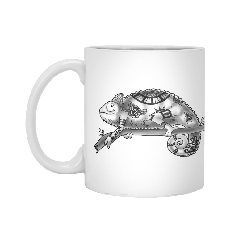 Tatted Lizard Accessories Standard Mug by jordan's Artist Shop