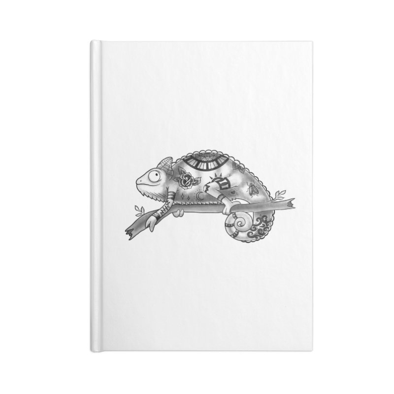 Tatted Lizard Accessories Lined Journal Notebook by jordan's Artist Shop
