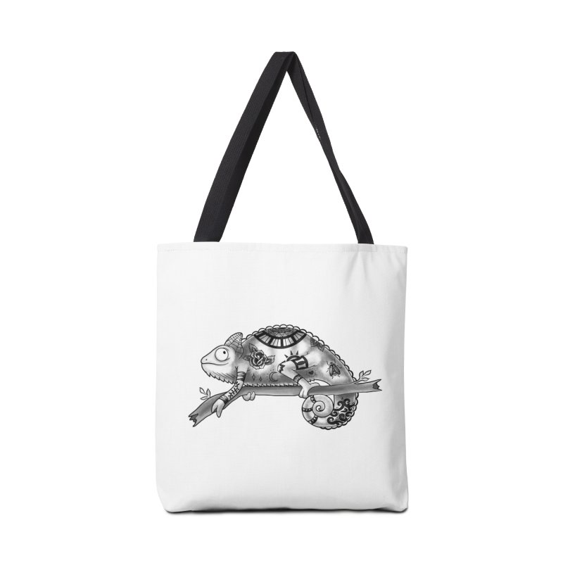 Tatted Lizard Accessories Tote Bag Bag by jordan's Artist Shop