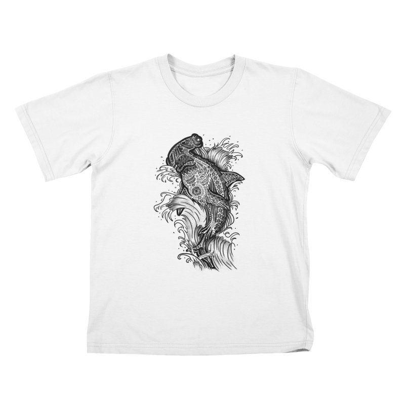 Hammerhead Kids T-Shirt by jordan's Artist Shop