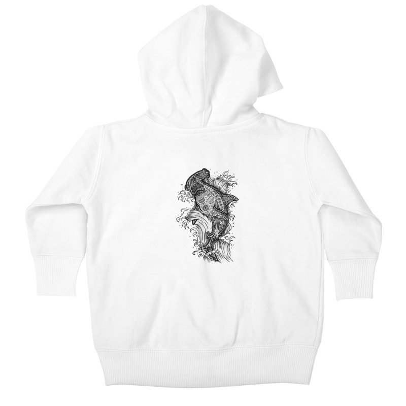Hammerhead Kids Baby Zip-Up Hoody by jordan's Artist Shop